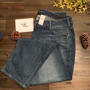 Lane Bryant Mid Rise Straight Leg Jeans NWT Size22